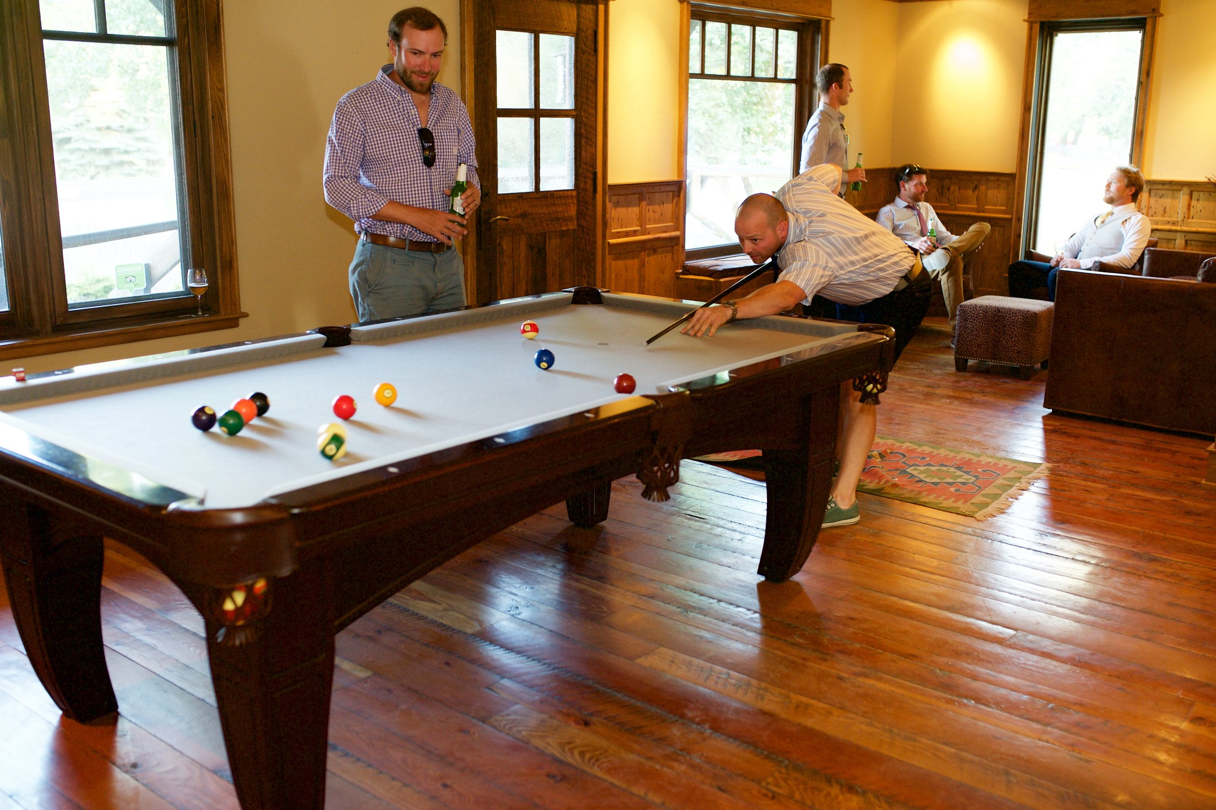Additional Space Included With Any Rental  - Lounge Area with Pool Table