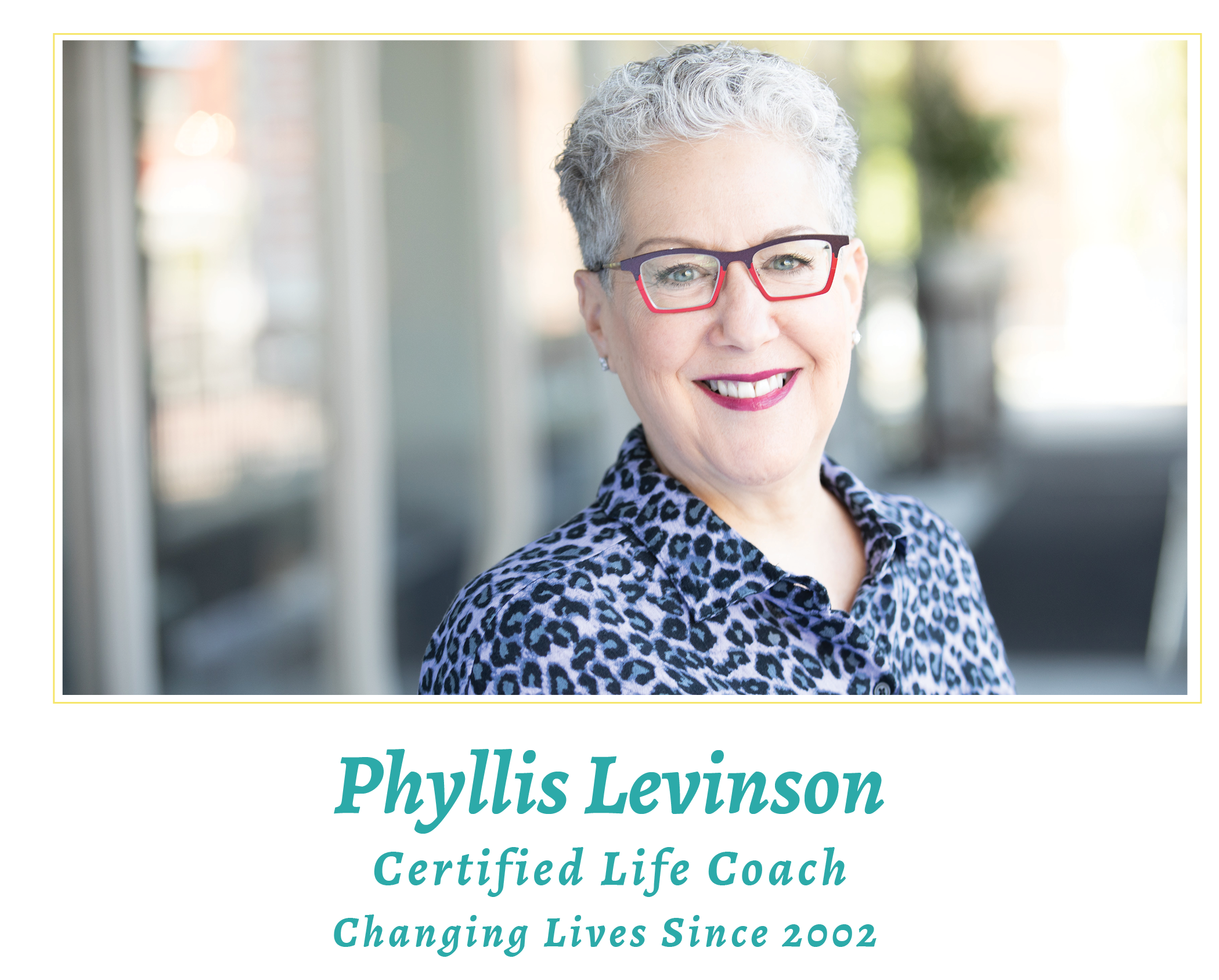 Phyllis Levinson Certified Life Coach Since 2002 - DC Metro Area