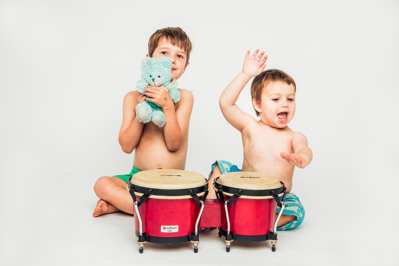 Studio session kids