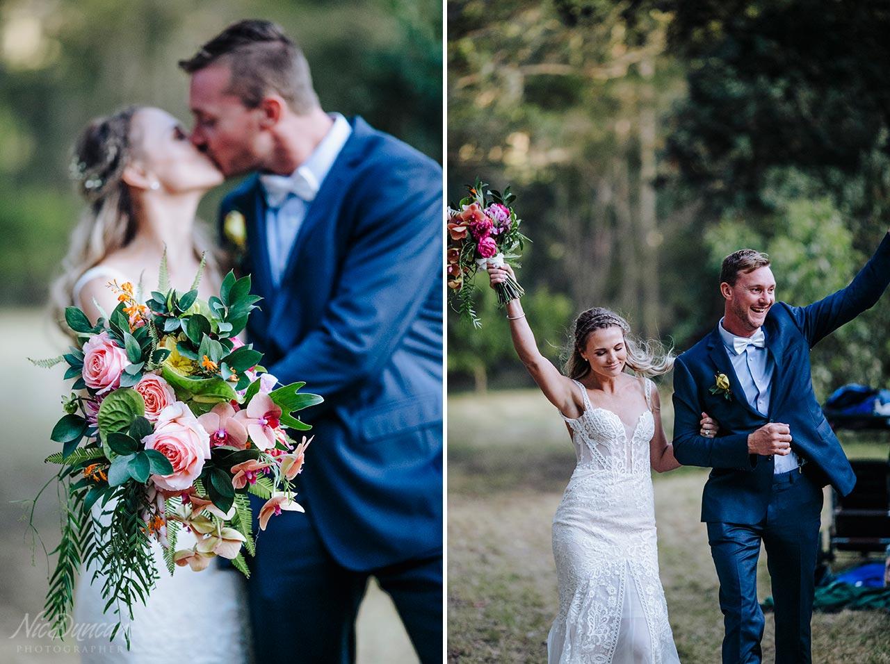 Flowers by Lush Floral Design at a Denmark farm wedding