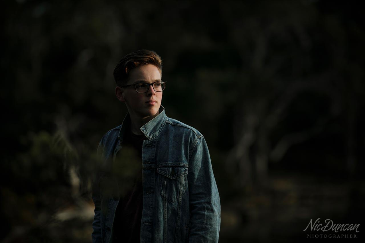 Julian Anderson, musician student at WAAPA