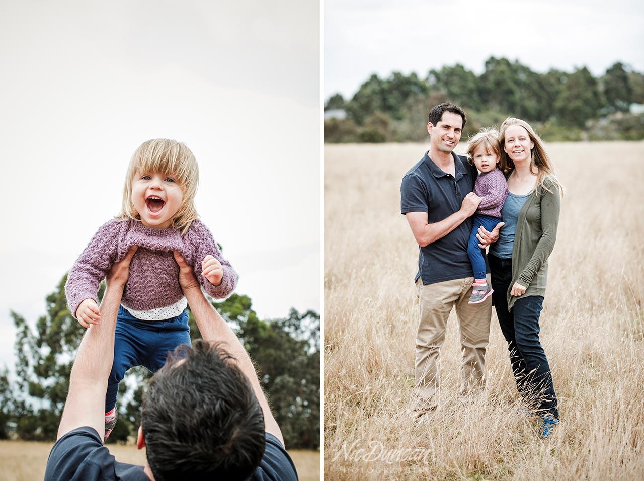 Denmark and Albany family photographs