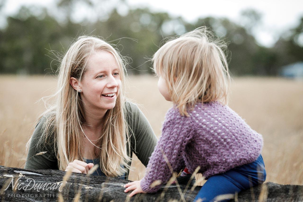Mother and child portrait, Denmark WA