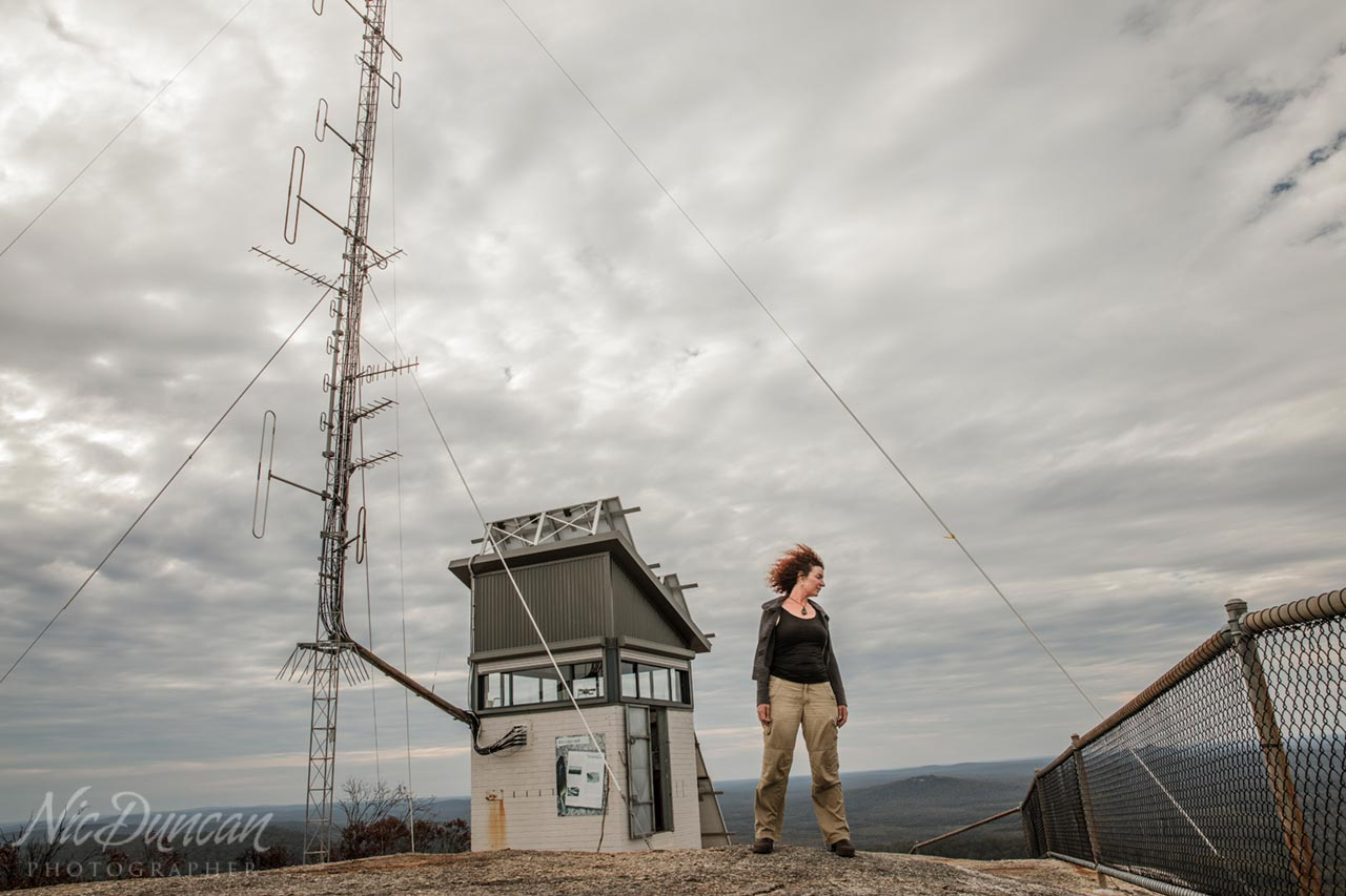 Bushfire watchtower on the top of Mt Frankland, Walpole WA