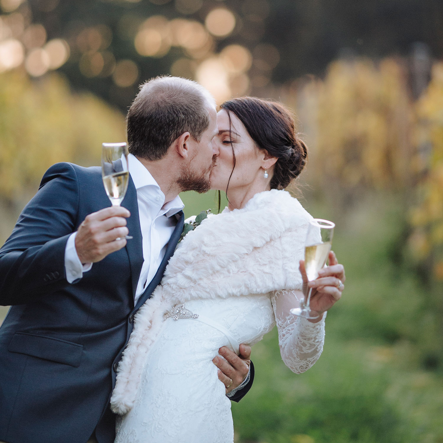 Denmark wedding photographer. Winter wedding at Paul Nelson Wines in Denmark WA