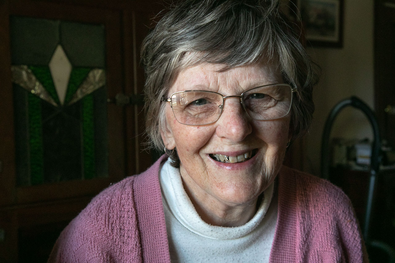 Portrait of an older lady