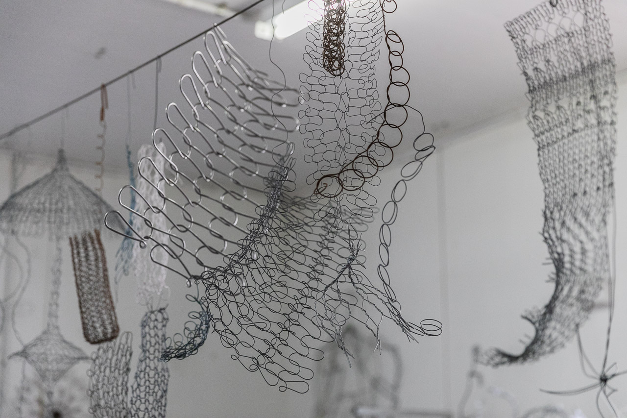 Tania Spencer works mainly with wire currently