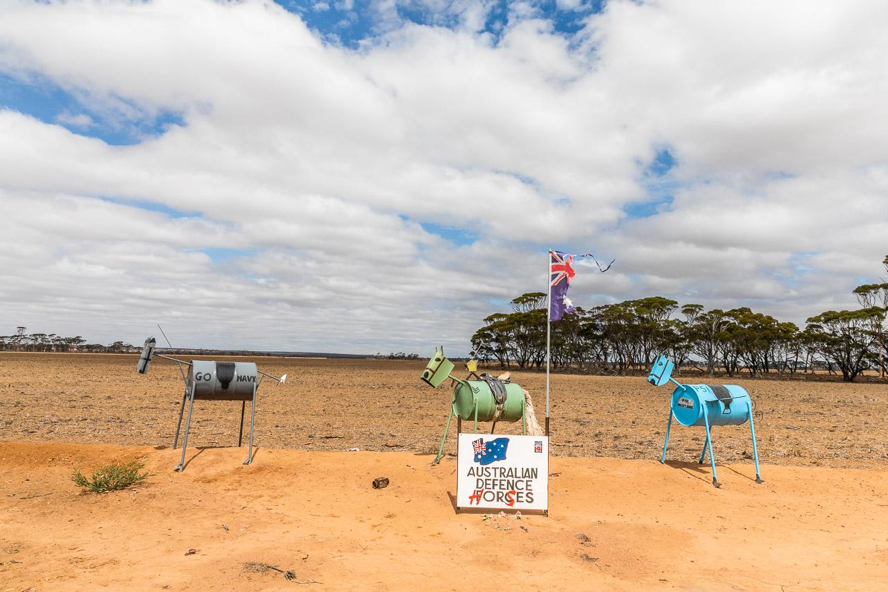 Tin Horse Highway installation