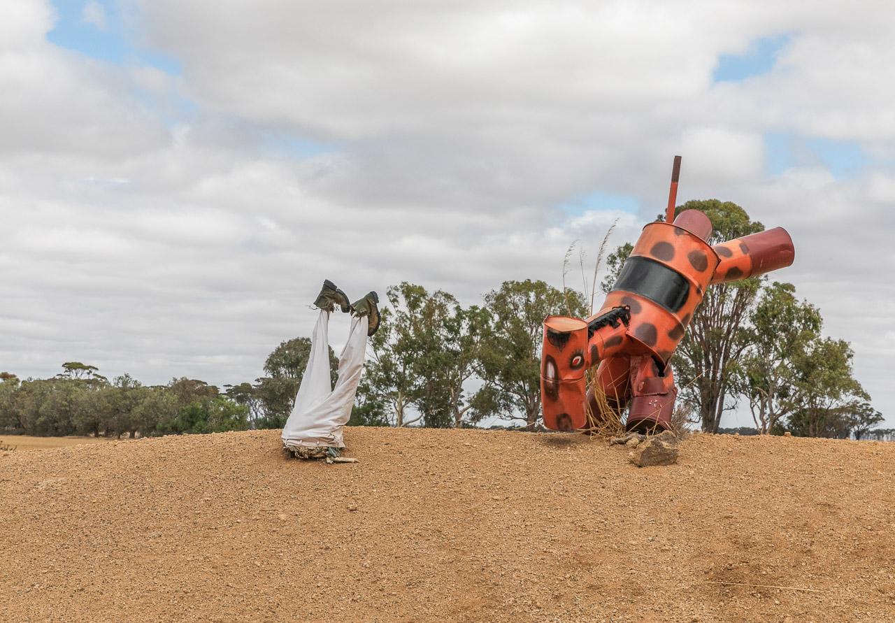 Tin Horse Highway celebrating the Kulin Bush Races in the Wheatbelt region of Western Australia