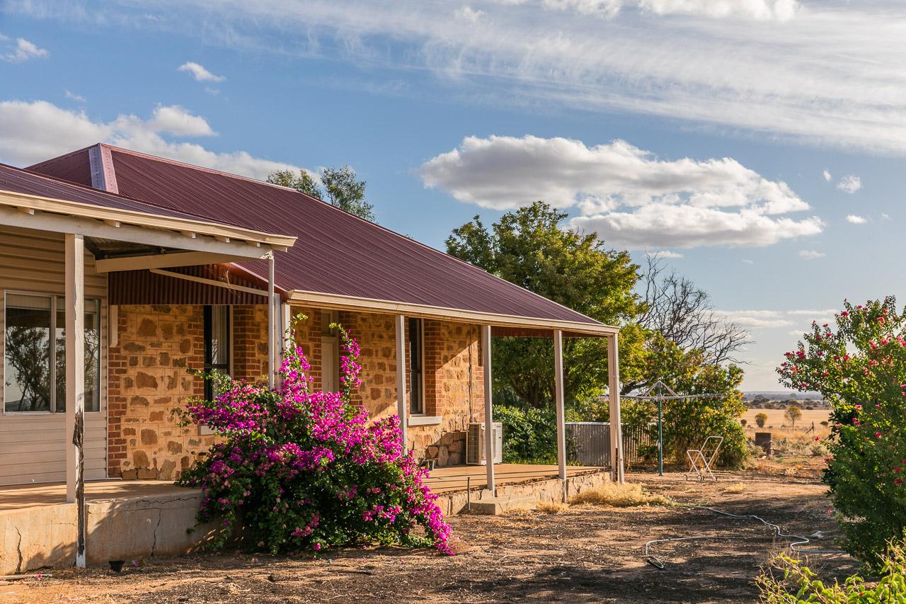 A historic homestead in the WA wheatbelt built of local stone