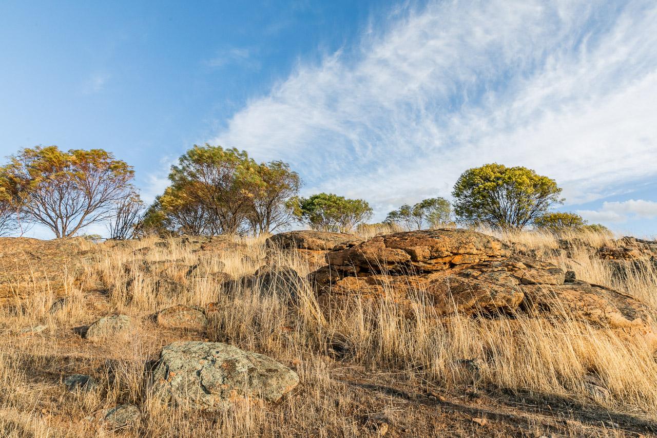 Granite outcrop in the wheatbelt, WA