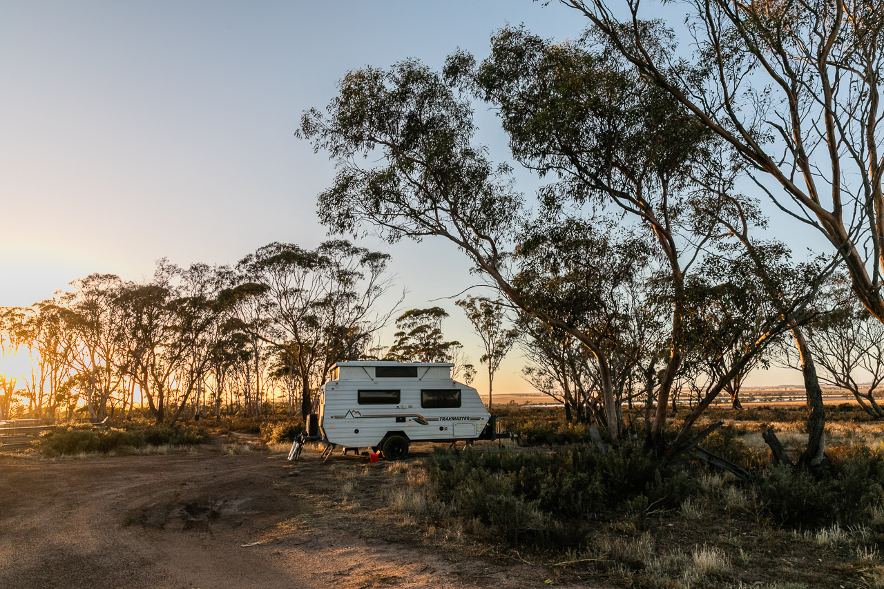 Camping on a farm in Bruce Rock, Wheatbelt WA