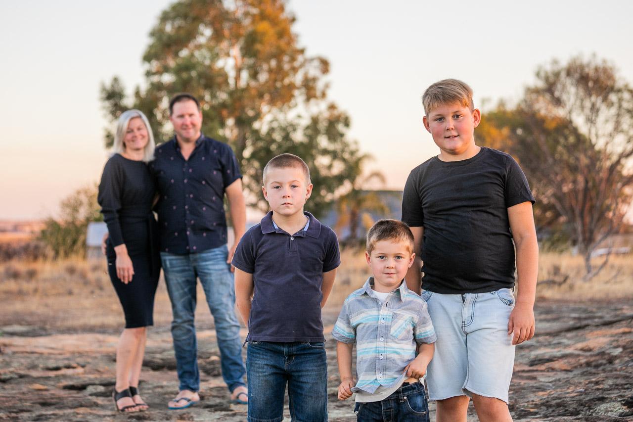 Wheatbelt family photography