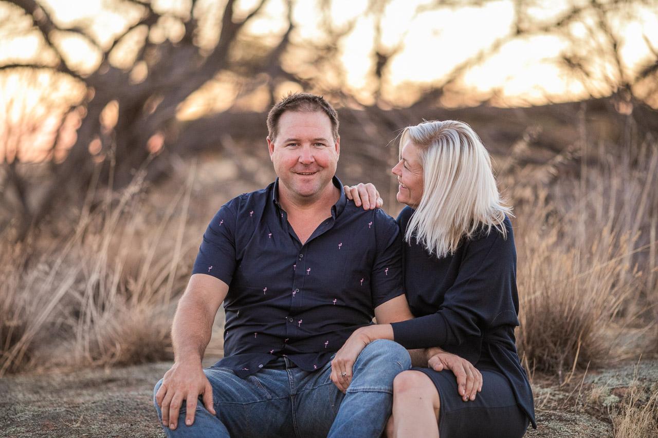 Couples portraits in the Wheatbelt, WA