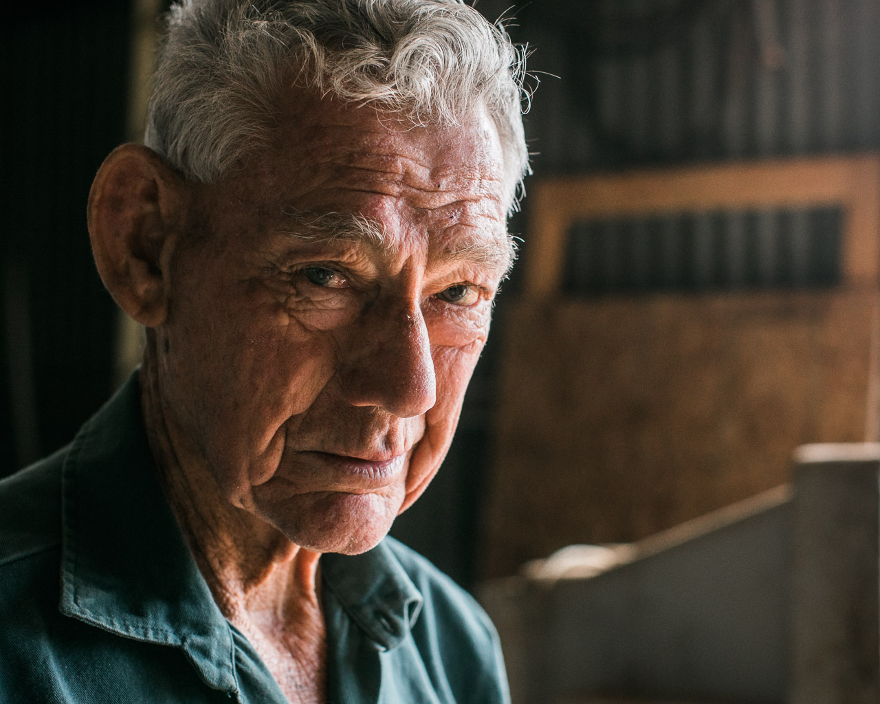 Mukinbudin's mechanic, Richard Spark, aged 82 and living life well