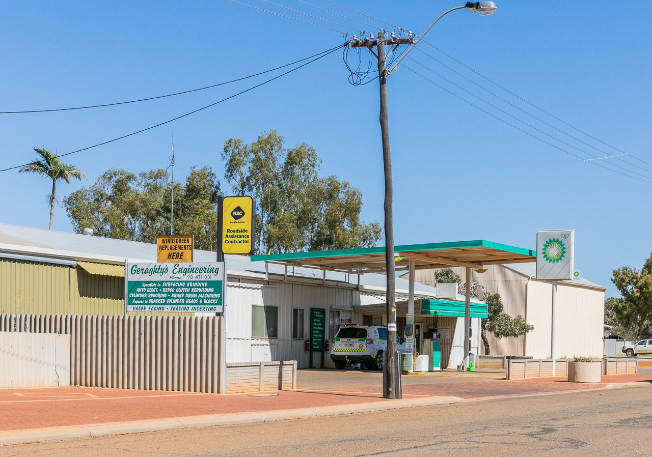 The BP at Mukinbudin in WA's wheatbelt region