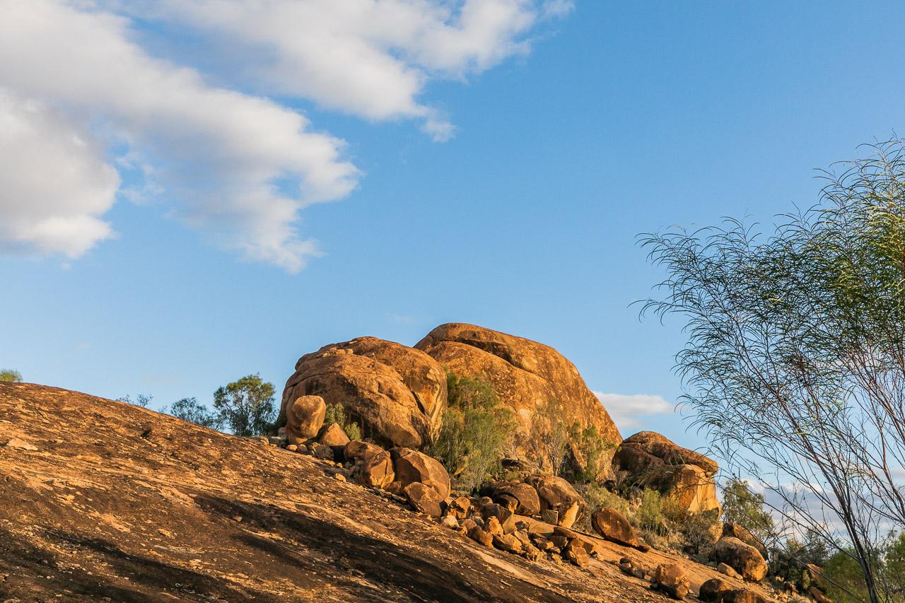 The Mukinbudin locals know Eaglestone Rock as Turtle Rock