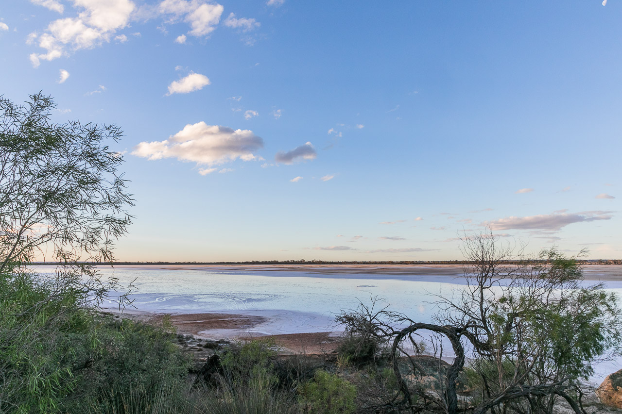 Sunset at Lake Brown in the Wheatbelt