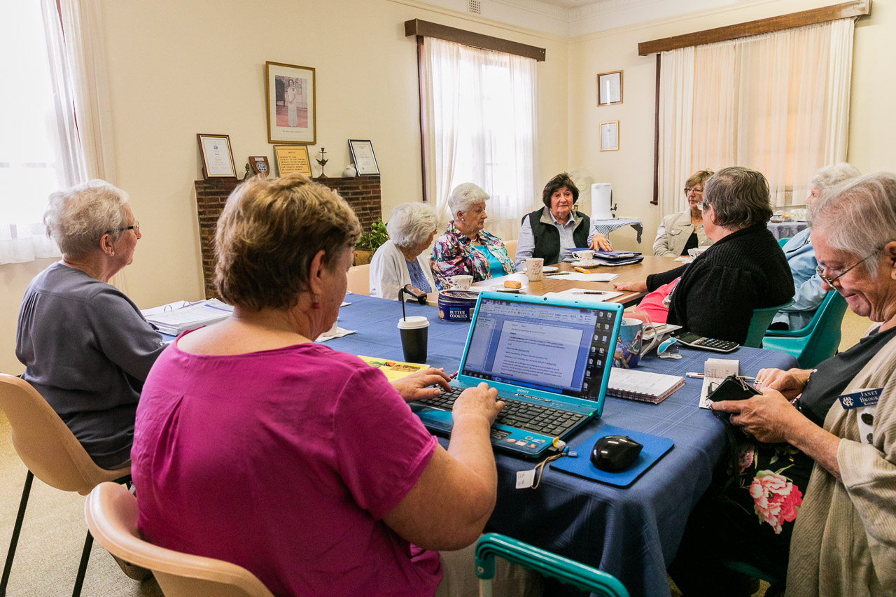 CWA meeting in Koorda, Western Australia