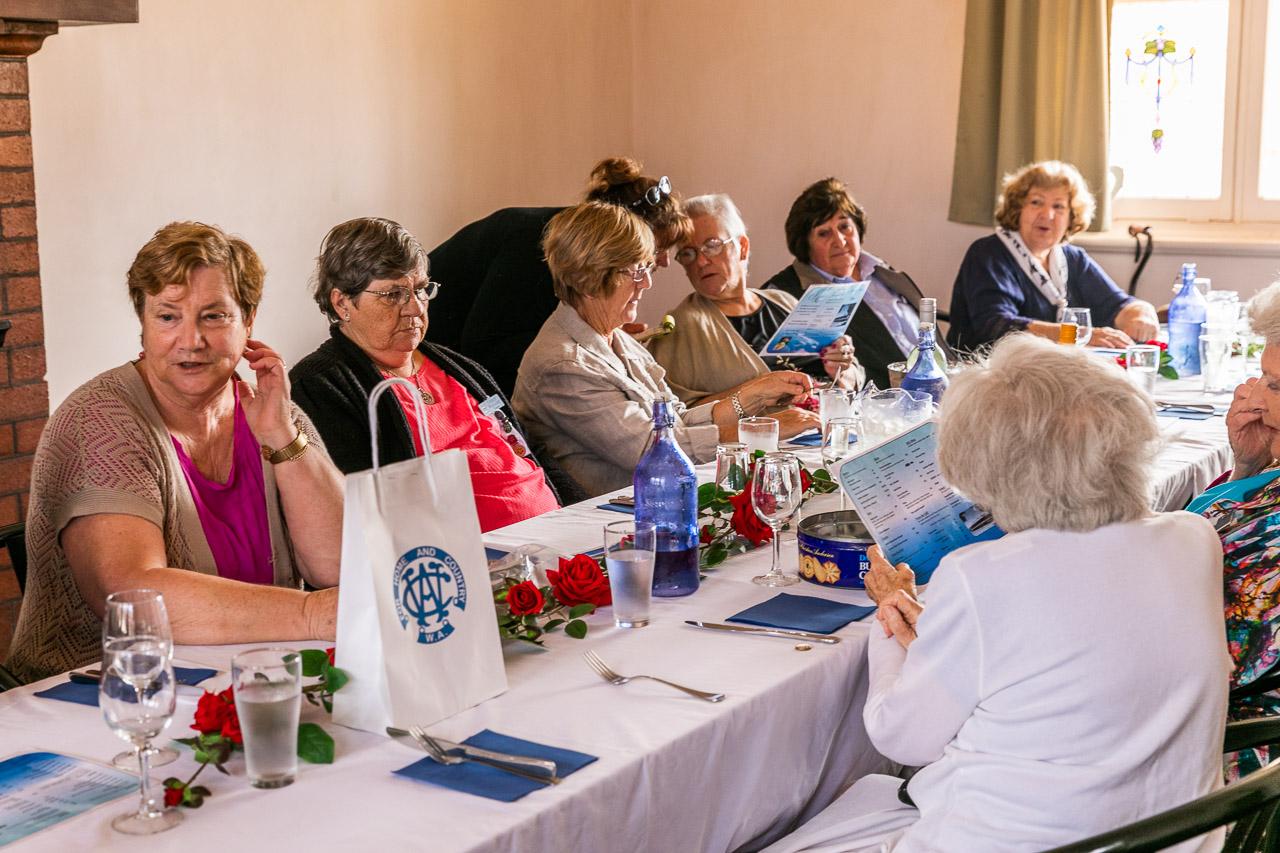 CWA ladies' lunch at the Koorda Hotel