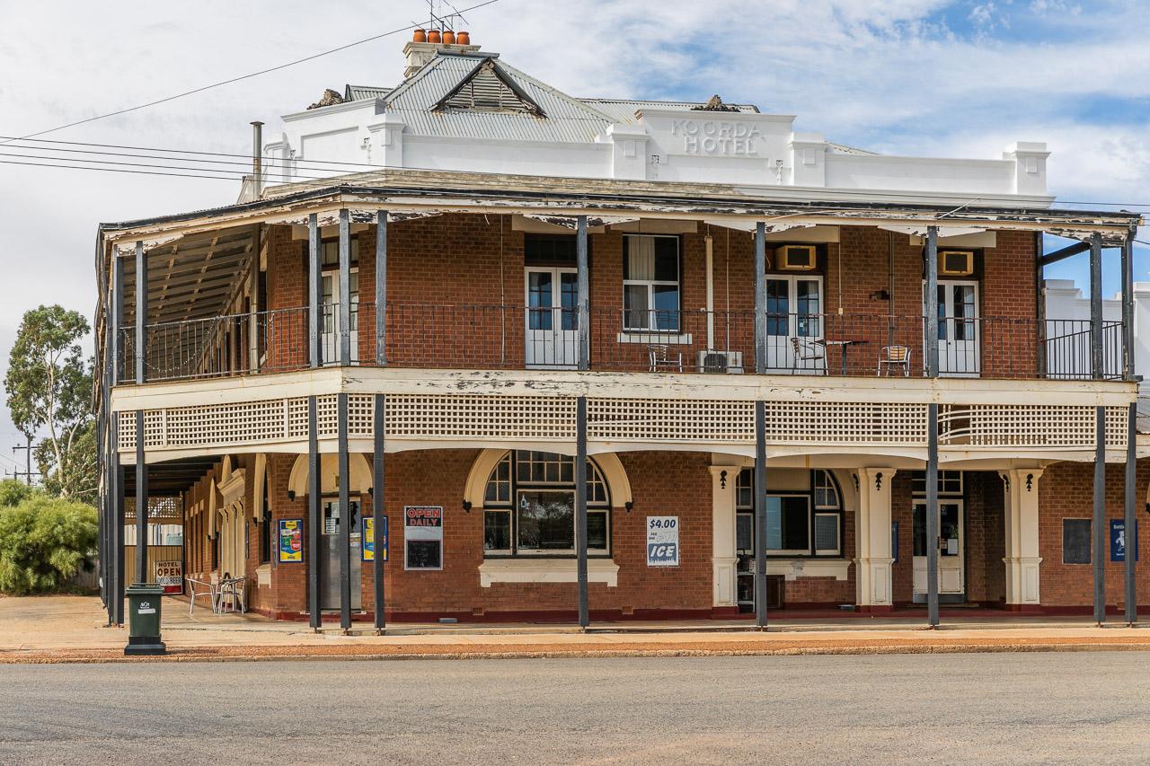 Koorda Hotel in the Wheatbelt