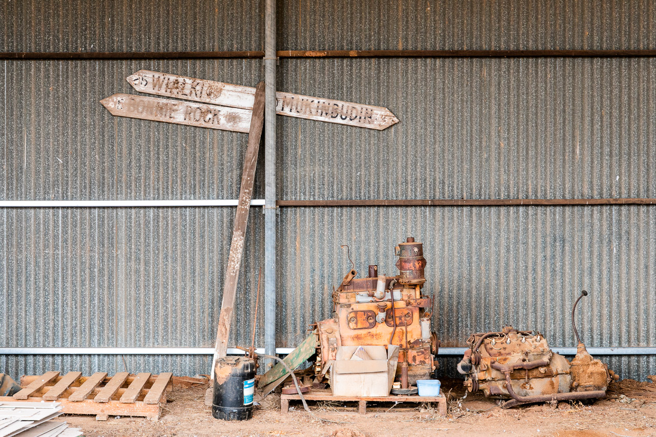 Treasure to be found in the farm sheds all around Australia