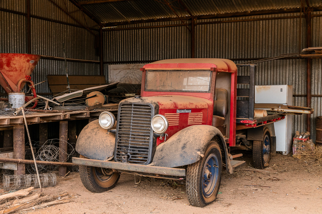 Farms across Australia have old vehicles gathering dust in the sheds