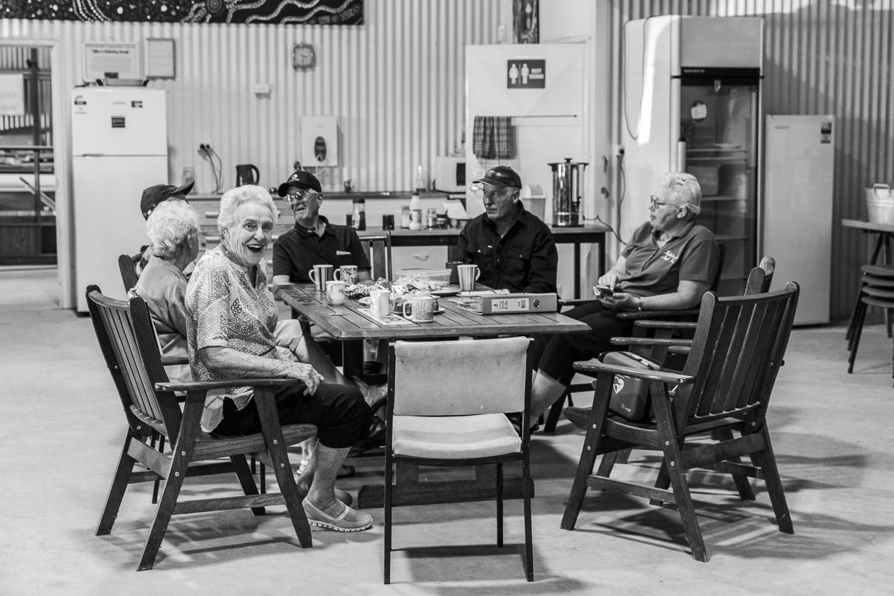 Morning Tea at the Mukinbudin Community Shed
