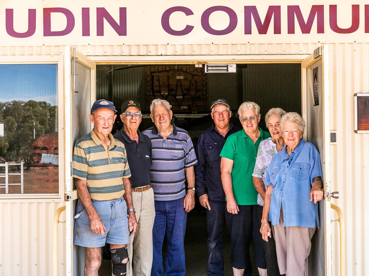 Mukinbudin Community Shed committee members