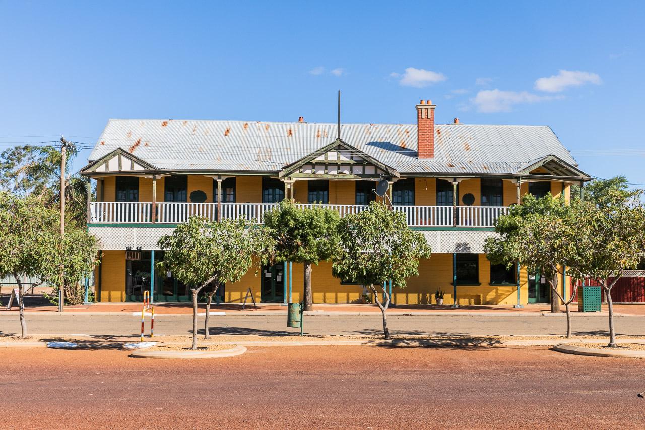 The Mukinbudin Hotel in the Wheatbelt region of Western Australia