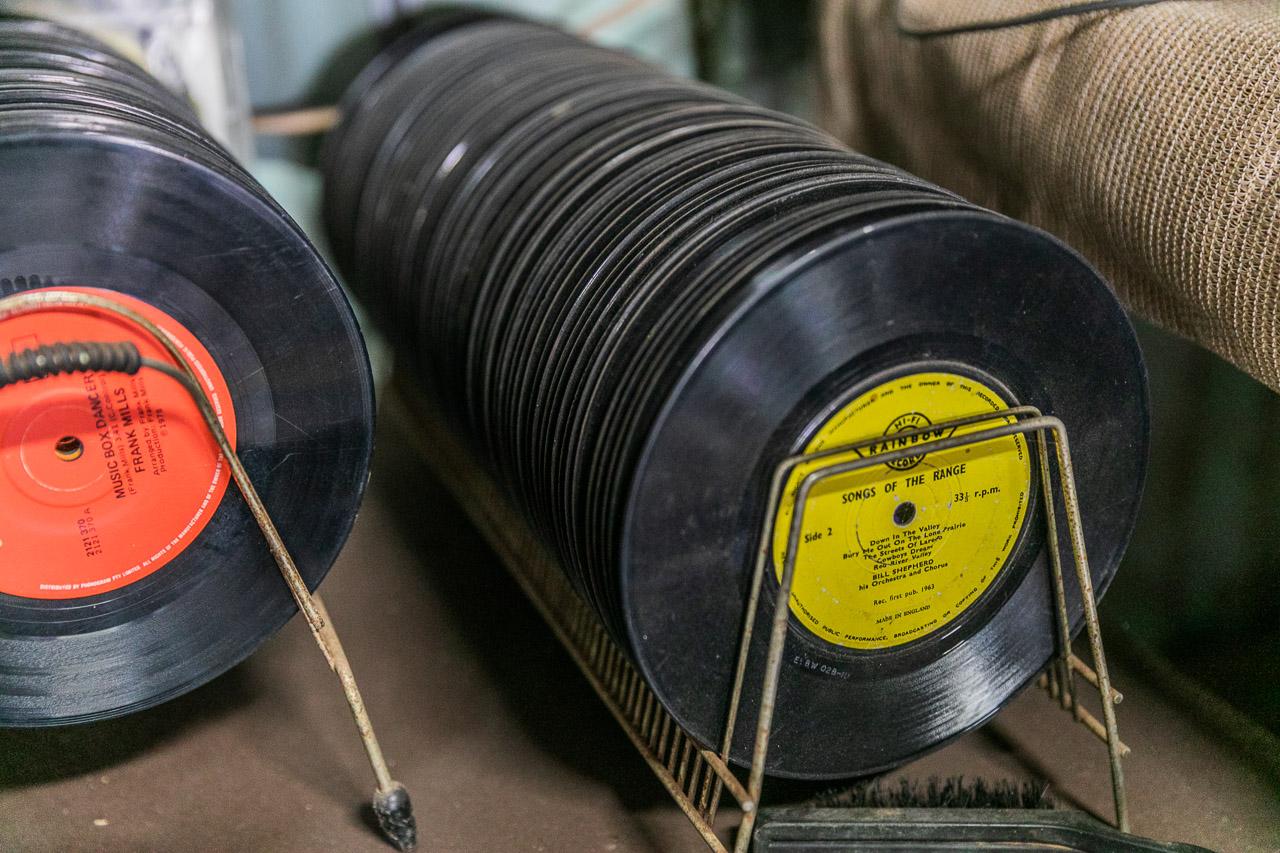 "7"" vinyl record collection"
