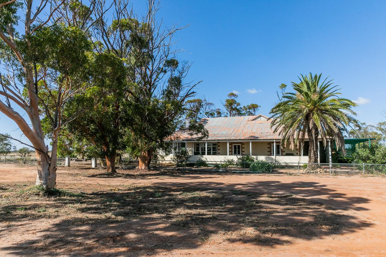 Old farmhouse in Koorda in Western Australia