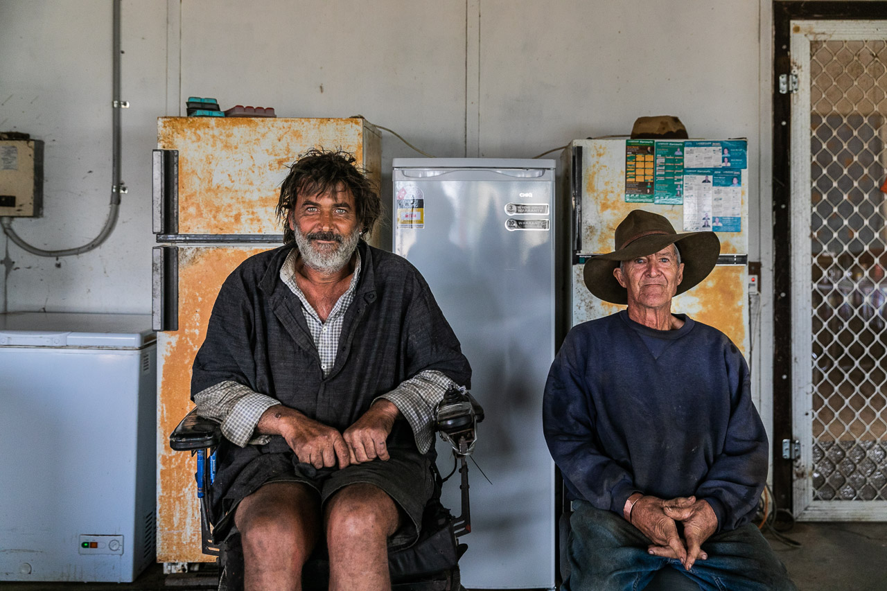 Robert and his father Robin live in Goodlands on the very northern edge of the Wheatbelt