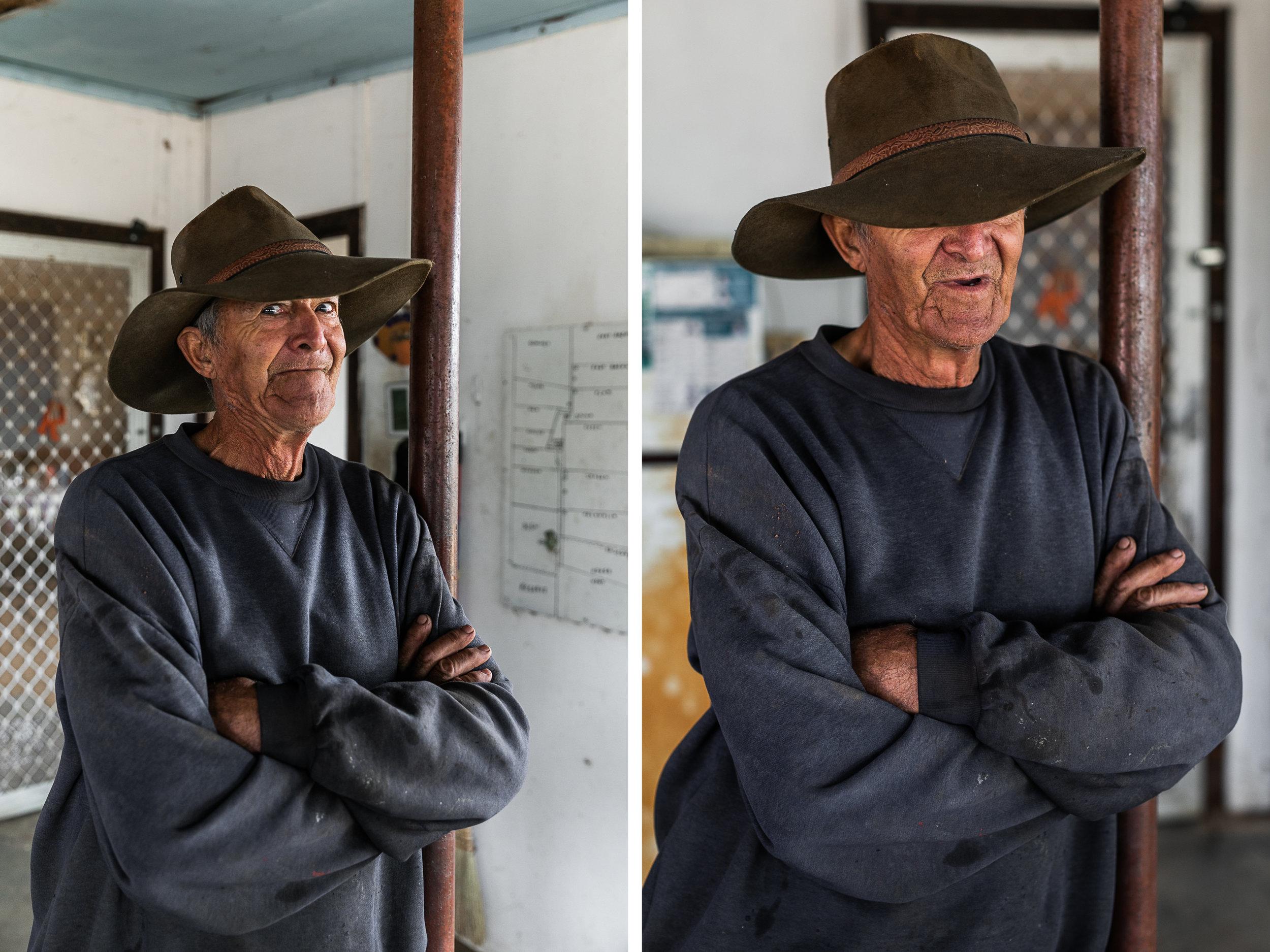Aussie battler in the Wheatbelt