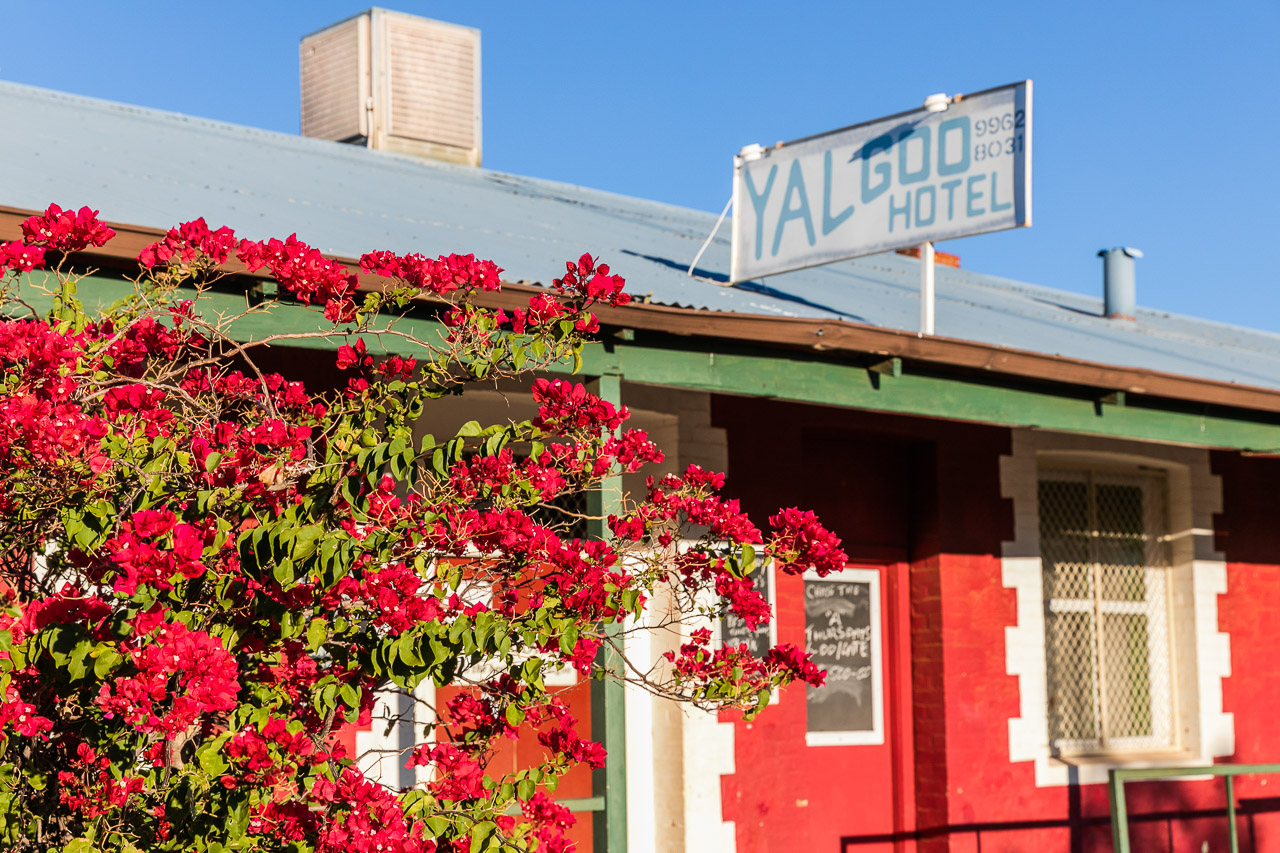 The pub at Yalgoo, WA