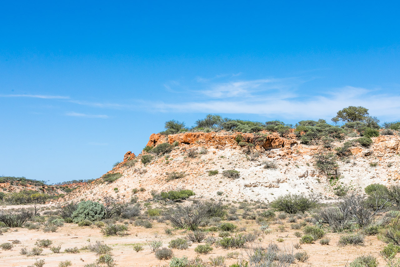 Rocky outcrops at Carey Downs Station in Western Australia