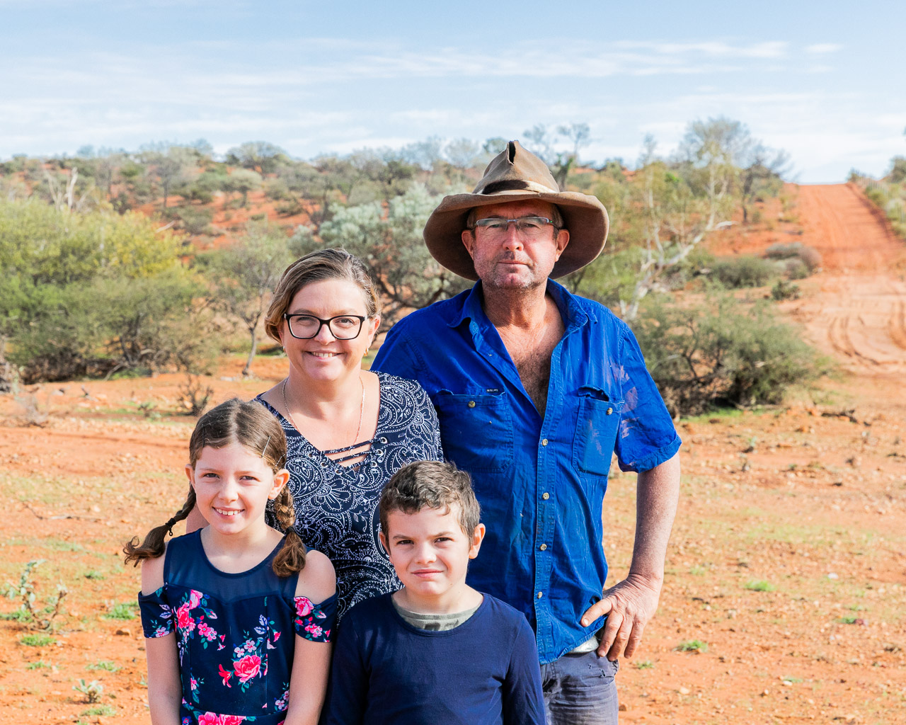 The McKeough Family at Carey Downs Station