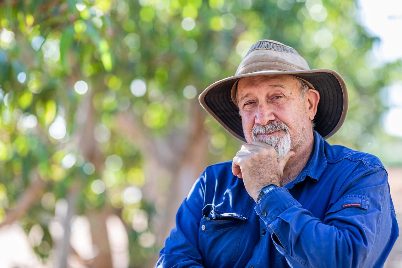 Plantation owner, Rick Skender in Carnarvon
