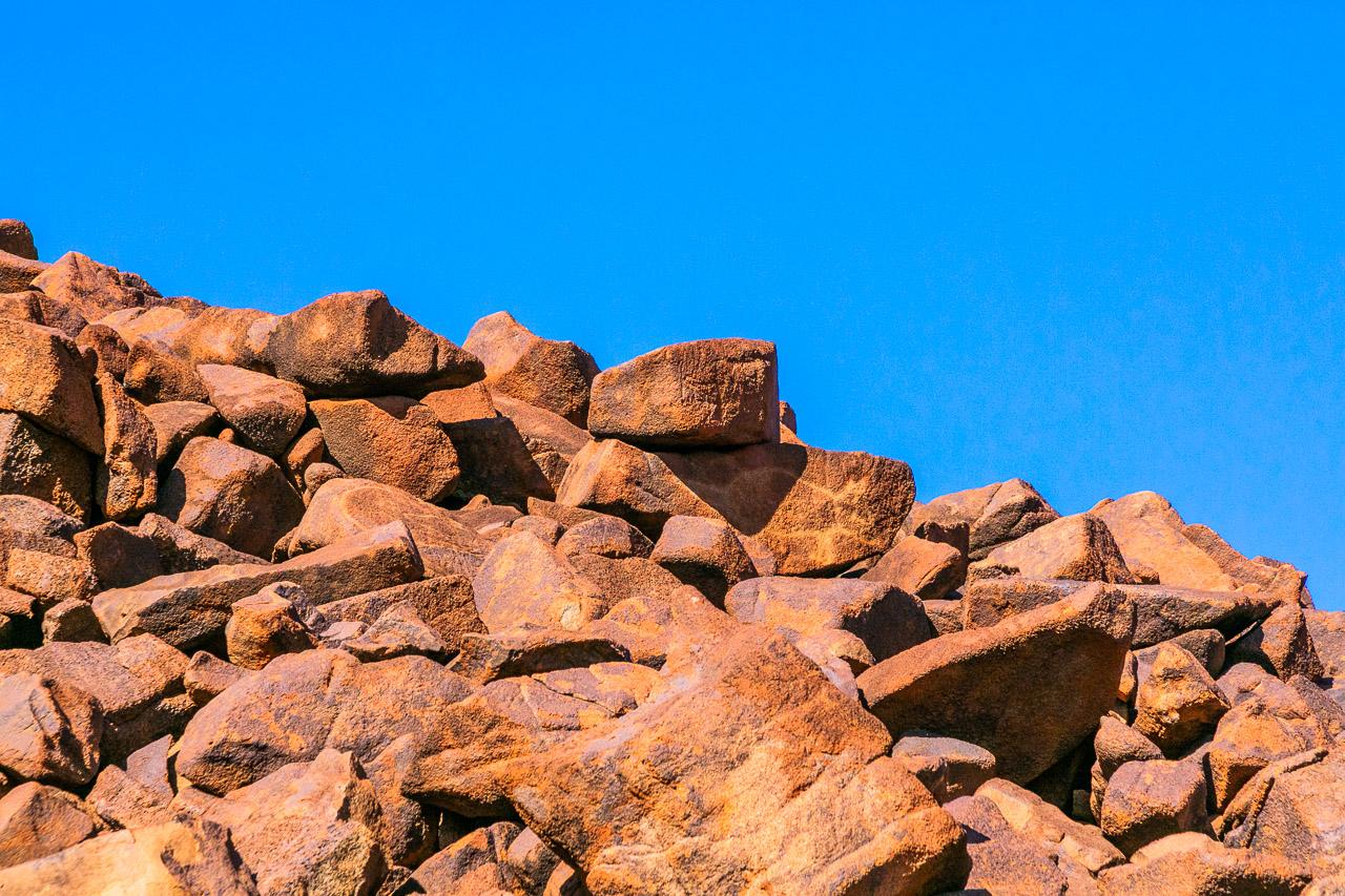 Petroglyphs at Deep Gorge