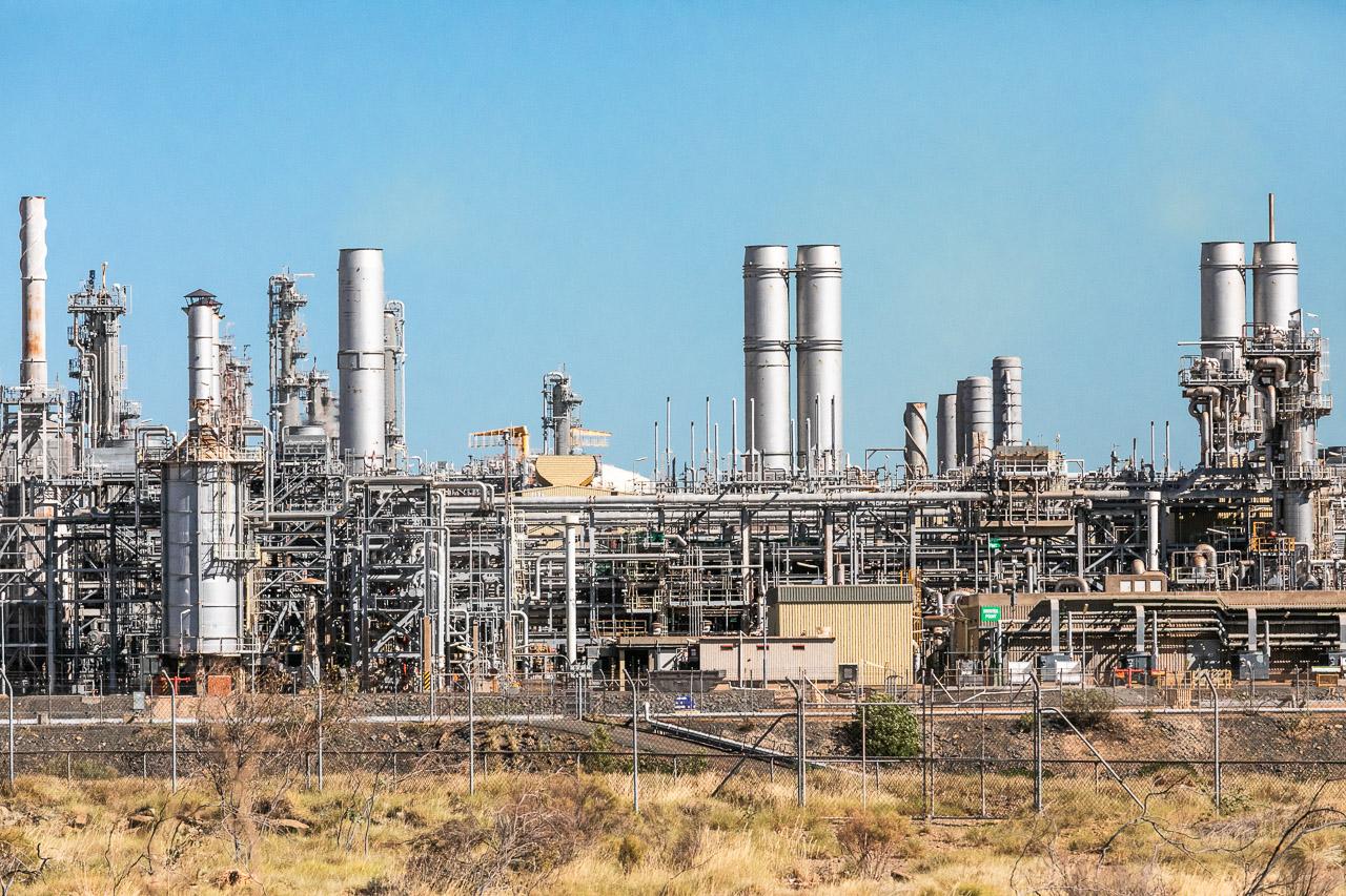 Industry eyesore on the Burrup Peninsula