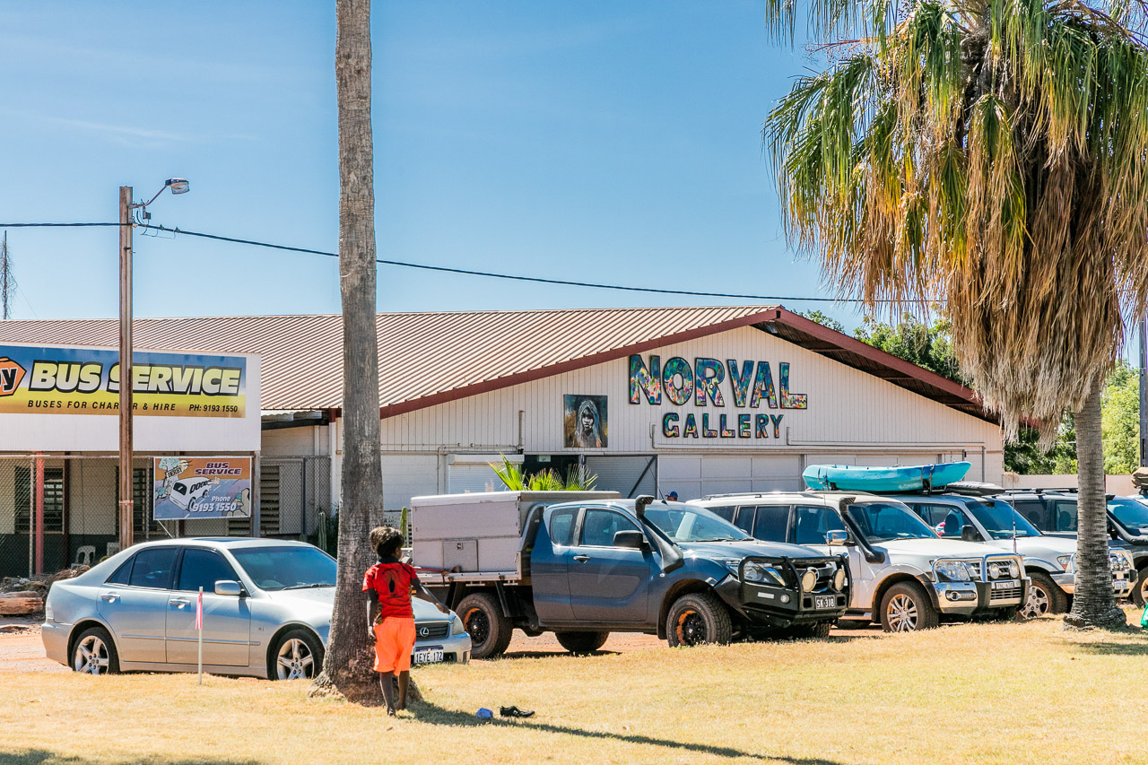 Mark Norval's Norval Gallery is a must-see in Derby, Western Australia