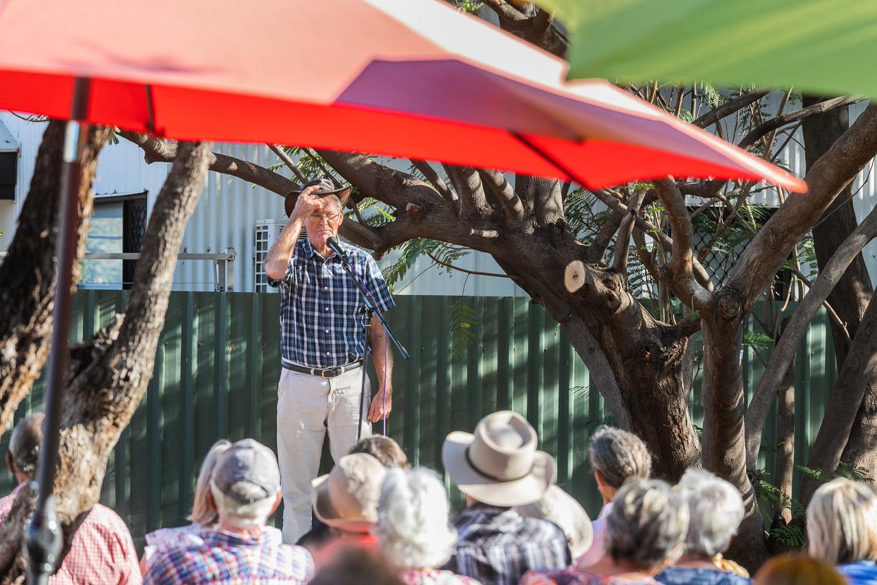 The bush poets breakfast is held each year in Derby, Western Australia