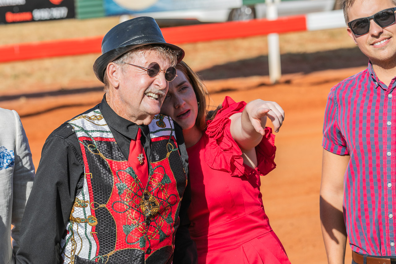 Contenders for Best Dressed at the 2019 Derby Cup Race Day in the Kimberley
