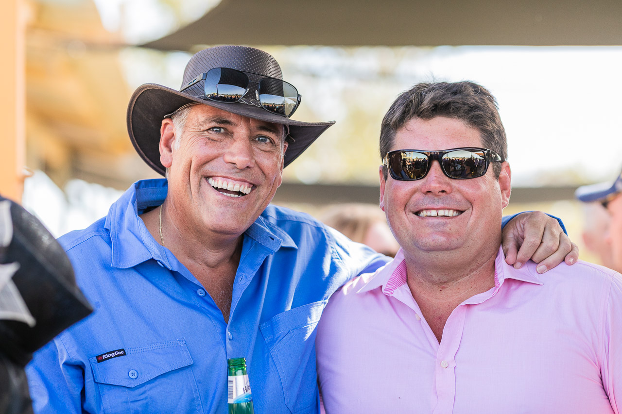Smiles all round at the Derby Cup Race Day, WA