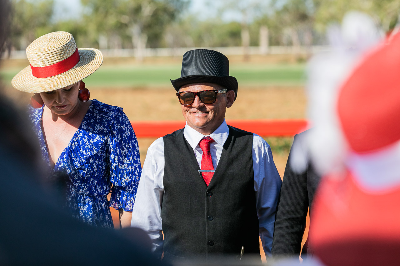 Top hat at the Derby Cup Race Day