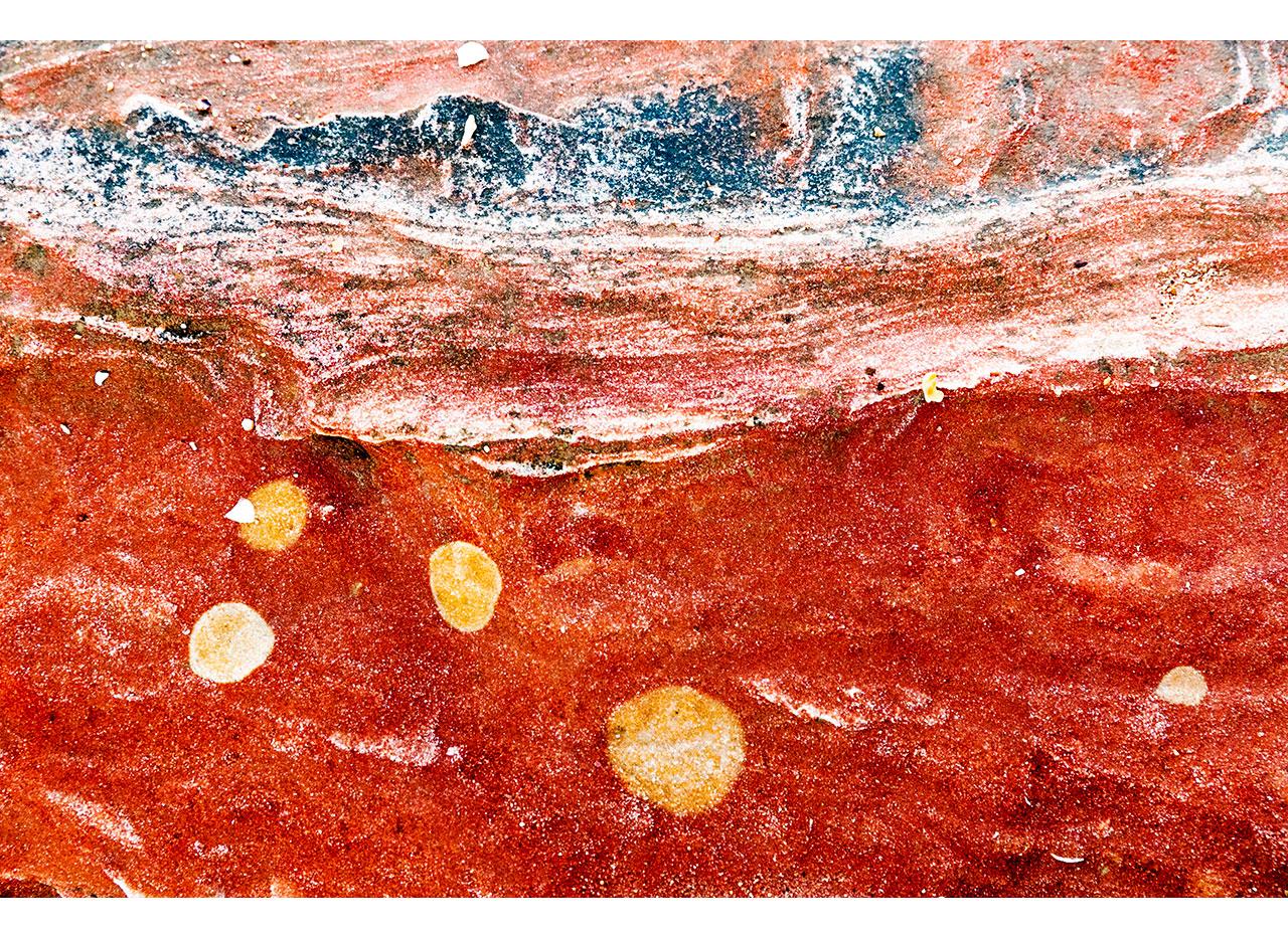 Beautiful patterns in Broome's rocks