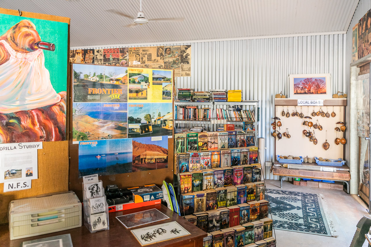 The contents of Pixie's Tin Shed in Wyndham are wide-ranging and random!