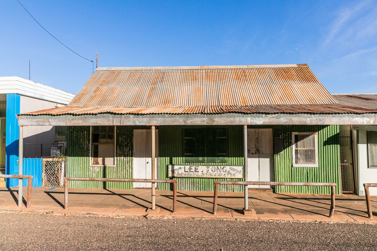 The old Lee Tong store in Wyndham town