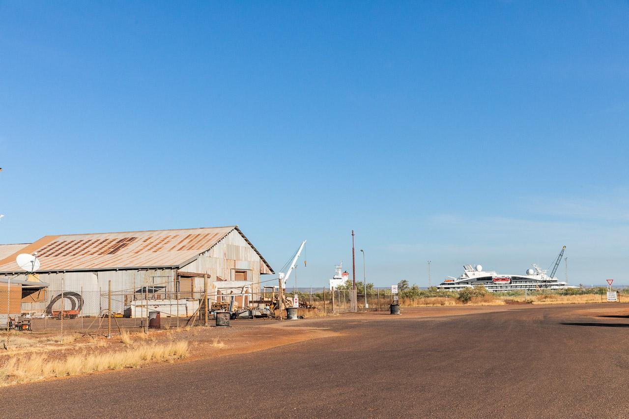 Sheds around Wyndham port, Western Australia