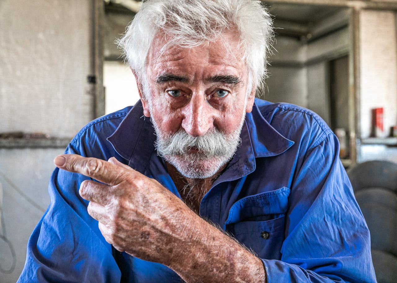 "Honest John - ""former fashion advisor to the ladies of the Kimberley"""